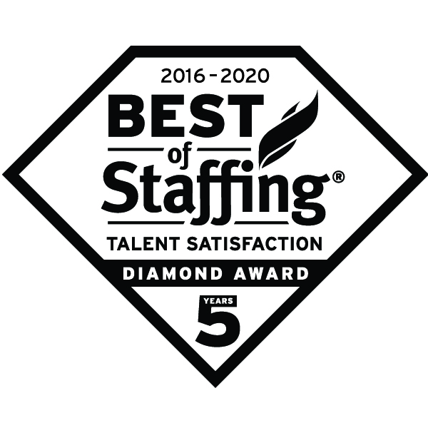 Best of Staffing 2020 Talent Diamond